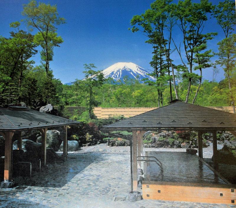 徒歩8分紅富士温泉