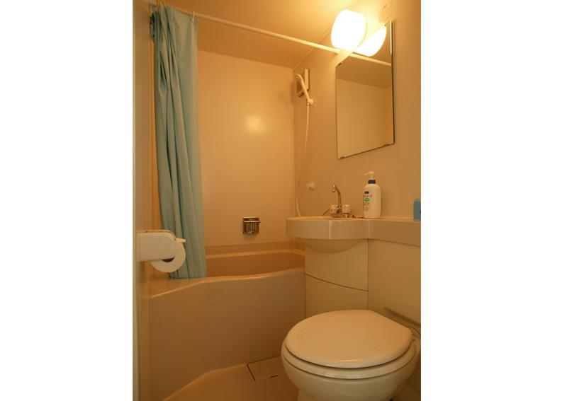 こんなバストイレが付いています ウォシュレット付