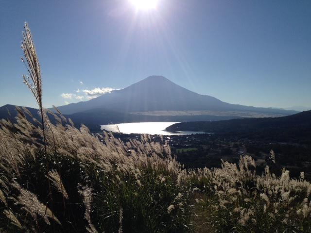高指山からの富士